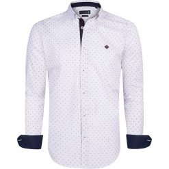 """Koszule męskie na spinki: Koszula """"Lanark"""" w kolorze białym"""