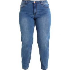 Lost Ink Plus SLIM BOYFRIEND JEANS Jeansy Zwężane mid denim. Niebieskie jeansy damskie marki Lost Ink Plus. Za 199,00 zł.