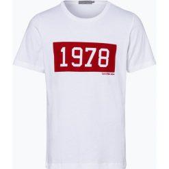Calvin Klein Jeans - T-shirt męski, czarny. Czarne t-shirty męskie z nadrukiem marki Calvin Klein Jeans, z bawełny. Za 179,95 zł.