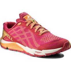Buty MERRELL - Bare Access Flex E-Mesh J12612 Hot Coral. Czerwone buty do biegania damskie marki Merrell, z materiału. W wyprzedaży za 229,00 zł.