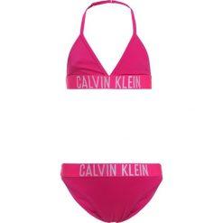 Stroje dwuczęściowe damskie: Calvin Klein Swimwear INTENSE POWER TRIANGLE SET Bikini pink glo