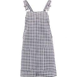Sukienki hiszpanki: Topshop GINGHAM Sukienka letnia monochrome