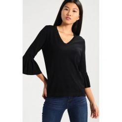 Swetry klasyczne damskie: Kaffe SELLA Sweter black deep
