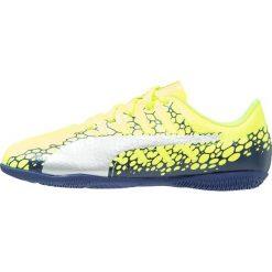 Puma EVOPOWER VIGOR 4 GRAPH IT Halówki safety yellow/silver/blue depths. Niebieskie buty skate męskie Puma, z gumy. W wyprzedaży za 126,75 zł.