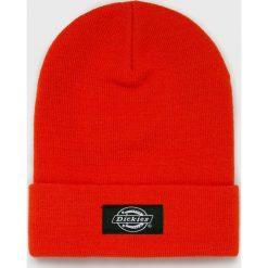 Dickies - Czapka/kapelusz 08.410205. Szare czapki zimowe męskie marki Dickies, na zimę, z dzianiny. Za 89,90 zł.