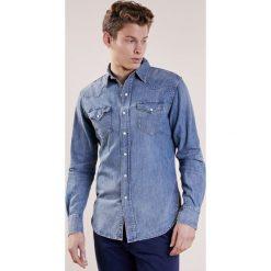 Polo Ralph Lauren Koszula blue. Szare bluzki dziewczęce bawełniane marki Polo Ralph Lauren, l, button down, z długim rękawem. W wyprzedaży za 539,25 zł.
