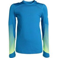 Under Armour REACTOR CREW  Koszulka sportowa cruise blue. Niebieskie t-shirty dziewczęce marki Retour Jeans, z bawełny. W wyprzedaży za 156,75 zł.