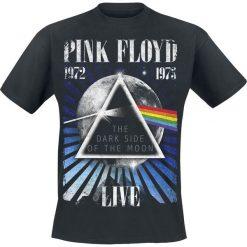 Pink Floyd Dark Side - Space T-Shirt czarny. Czarne t-shirty męskie z nadrukiem marki Pink Floyd, m, z okrągłym kołnierzem. Za 54,90 zł.