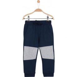 Spodnie niemowlęce: Grube spodnie dresowe ze ściągaczami dla niemowlaka