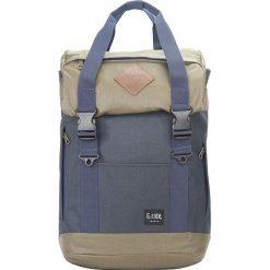 Plecaki męskie: Plecak w kolorze granatowo-oliwkowym – 33 x 56 x 18 cm
