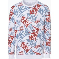 Review - Męska bluza nierozpinana, czarny. Niebieskie bluzy męskie marki Review. Za 99,95 zł.