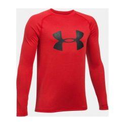 Under Armour Koszulka z logo długi rękaw kolor czerwony rozmiar L (1299389-600). Czerwone koszulki sportowe męskie Under Armour, l. Za 72,07 zł.
