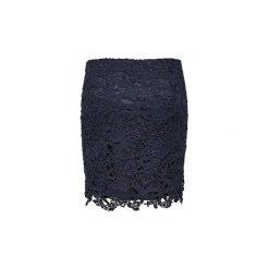 Spódnice krótkie Only  FALDA  onlDORIS ANGLAISE SKIRT OTW. Niebieskie minispódniczki marki ONLY. Za 184,68 zł.