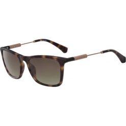 """Okulary przeciwsłoneczne damskie: Okulary przeciwsłoneczne """"CKJ490S"""" w kolorze brązowym"""