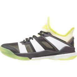 Buty damskie: adidas Performance STABIL X Obuwie do piłki ręcznej utility black/white/ice yellow