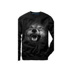 Bluza UNDERWORLD casual Wilk. Szare bluzy męskie rozpinane marki Underworld, m, z nadrukiem, z bawełny. Za 119,99 zł.