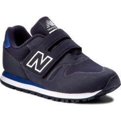 Sneakersy NEW BALANCE - KA373NAY Granatowy. Niebieskie trampki chłopięce marki New Balance, z materiału, na rzepy. W wyprzedaży za 199,00 zł.