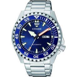 ZEGAREK CITIZEN Mechanical NH8389-88LE. Niebieskie zegarki męskie CITIZEN, ze stali. Za 890,00 zł.