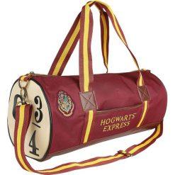 Harry Potter Hogwarts Express - 9 3/4 Torba na ramię czerwony/żółty. Czerwone torby na ramię męskie Harry Potter, z aplikacjami, z materiału, na ramię. Za 184,90 zł.