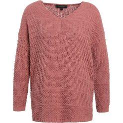 Swetry klasyczne damskie: Soft Rebels LULU  Sweter dusty rose