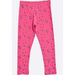 Blu Kids - Legginsy dziecięce 98-128 cm. Różowe legginsy dziewczęce marki Mayoral, z bawełny, z okrągłym kołnierzem. W wyprzedaży za 24,90 zł.