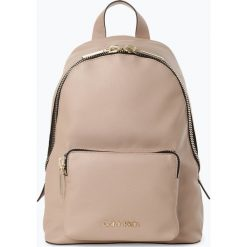 Calvin Klein - Plecak damski, brązowy. Brązowe plecaki damskie marki Calvin Klein. Za 499,95 zł.