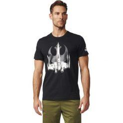 Adidas Koszulka X-Wing czarna r. XL (BK2840). Białe t-shirty męskie marki Adidas, l, z jersey, do piłki nożnej. Za 99,90 zł.