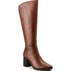 Buty zimowe damskie: Kozaki CAPRICE - 9-25517-29 Cognac Nappa 303