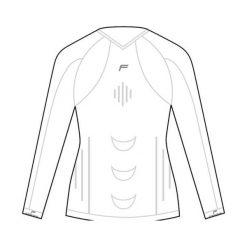 Bluzki sportowe damskie: Fuse Koszulka damska Fuse Staycool Megalight 140 długi rękaw biała r. S (FSE-15-1001-7-1-0001)