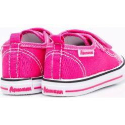 American Club - Tenisówki dziecięce. Różowe buty sportowe dziewczęce American CLUB, z materiału. W wyprzedaży za 33,90 zł.