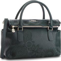 Torebka DESIGUAL - 18WAXPAB 4000. Zielone torebki klasyczne damskie marki Desigual, ze skóry ekologicznej. Za 299,90 zł.