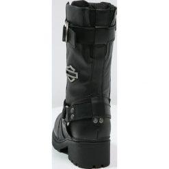 Buty zimowe damskie: Harley Davidson EDA Kozaki sznurowane black