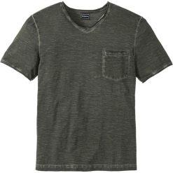 T-shirty męskie: T-shirt Slim Fit bonprix oliwkowy