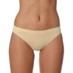Stroje dwuczęściowe damskie: Brubeck Figi damskie bikini Comfort Cotton beżowe r. S (BI10020A)