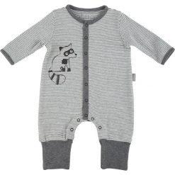 Sigikid  Boys Śpioszki grey melange - szary - Gr.Niemowlę (0 - 6 miesięcy). Szare pajacyki niemowlęce SIGIKID, z bawełny. Za 115,00 zł.