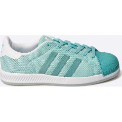 Adidas Originals - Buty superstar bounce w. Szare buty sportowe damskie adidas Originals, z materiału. W wyprzedaży za 239,90 zł.