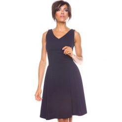 """Sukienki hiszpanki: Sukienka """"Ninon"""" w kolorze granatowym"""