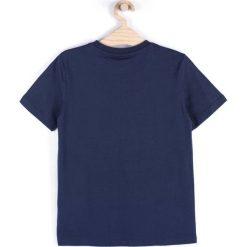 Coccodrillo - T-shirt dziecięcy 122-146 cm. Białe t-shirty chłopięce z nadrukiem marki COCCODRILLO, m, z bawełny, z okrągłym kołnierzem. Za 35,90 zł.