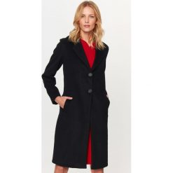 Płaszcze damskie pastelowe: Płaszcz w kolorze czarnym