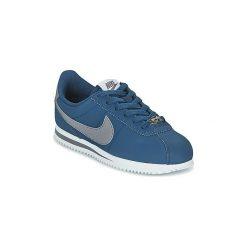 Buty Dziecko Nike  CLASSIC CORTEZ BASIC JUNIOR. Niebieskie trampki chłopięce marki Nike. Za 231,20 zł.