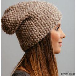 Czapka beanie alpaka. Niebieskie czapki zimowe damskie marki WED'ZE, z materiału. Za 239,00 zł.