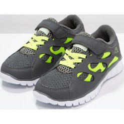 Kappa FOX LIGHT  Obuwie treningowe grey/lime. Szare buty sportowe chłopięce marki Kappa, z gumy. Za 129,00 zł.