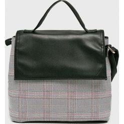Haily's - Torebka Agnes. Szare torebki klasyczne damskie Haily's, w paski, z materiału, średnie. Za 119,90 zł.