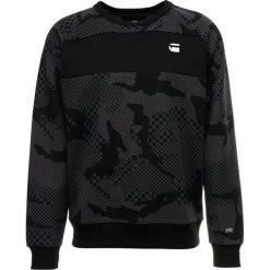 GStar RODIS CAMO RAGLAN R SWEAT L/S Bluza dark black. Czarne bluzy męskie marki G-Star, l, z bawełny. Za 369,00 zł.