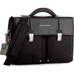 Torba na laptopa PIQUADRO - CA1044LK N. Czarne torby na laptopa marki Piquadro, z materiału. W wyprzedaży za 1179,00 zł.