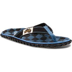 Japonki GUMBIES - Islander Blue Checker. Czarne japonki męskie Gumbies, z materiału. Za 99,95 zł.
