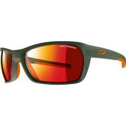 """Okulary przeciwsłoneczne """"Blast"""" w kolorze oliwkowo-czerwonym. Brązowe okulary przeciwsłoneczne damskie marki Triwa, z tworzywa sztucznego. W wyprzedaży za 215,95 zł."""