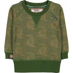 """Bluza """"Crocodile Song"""" w kolorze oliwkowym. Brązowe bluzy chłopięce marki 4FunkyFlavours Kids. W wyprzedaży za 82,95 zł."""