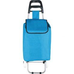 """Shopper bag damskie: Torba """"Clichy"""" w kolorze niebieskim na zakupy – 35 x 95 x 28 cm"""