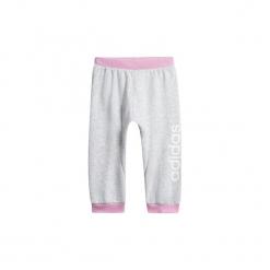 Spodnie treningowe Dziecko adidas  Spodnie Linear. Białe spodnie dresowe dziewczęce marki Adidas, m. Za 79,95 zł.